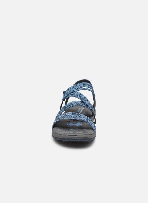 Sandales et nu-pieds Skechers REGGAE SLIM SKECH APPEAL Bleu vue portées chaussures