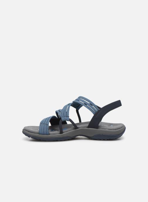 Sandales et nu-pieds Skechers REGGAE SLIM SKECH APPEAL Bleu vue face