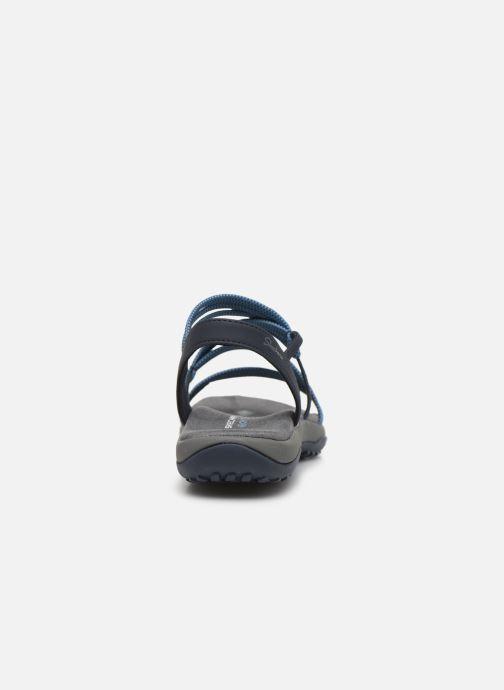 Sandales et nu-pieds Skechers REGGAE SLIM SKECH APPEAL Bleu vue droite