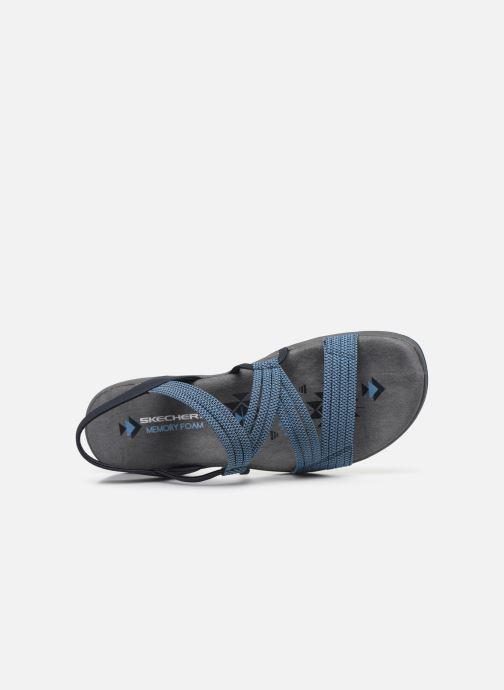 Sandales et nu-pieds Skechers REGGAE SLIM SKECH APPEAL Bleu vue gauche