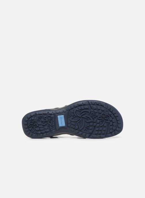 Sandales et nu-pieds Skechers REGGAE SLIM SKECH APPEAL Bleu vue haut