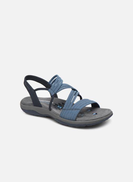 Sandales et nu-pieds Skechers REGGAE SLIM SKECH APPEAL Bleu vue détail/paire