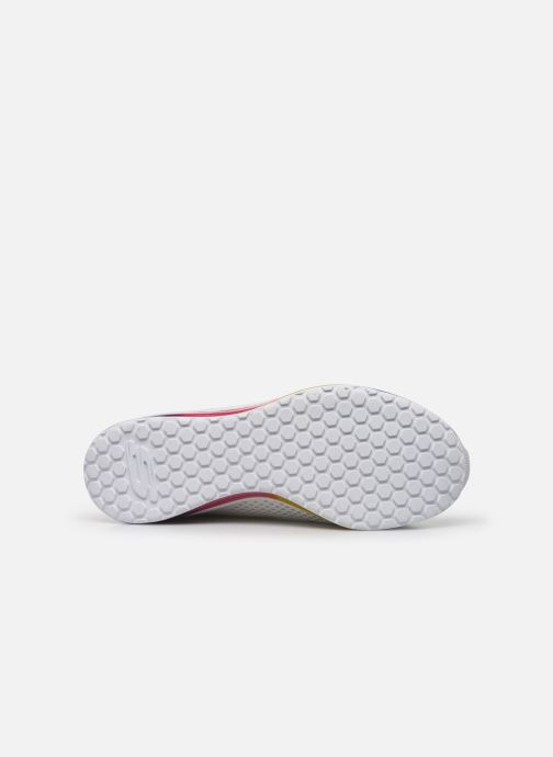 Baskets Skechers SKECH-AIR ELEMENT PRELUDE Blanc vue haut