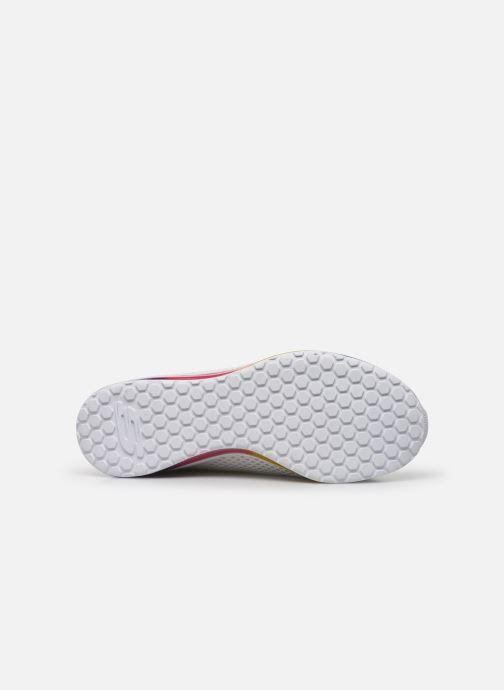 Sneaker Skechers SKECH-AIR ELEMENT PRELUDE weiß ansicht von oben
