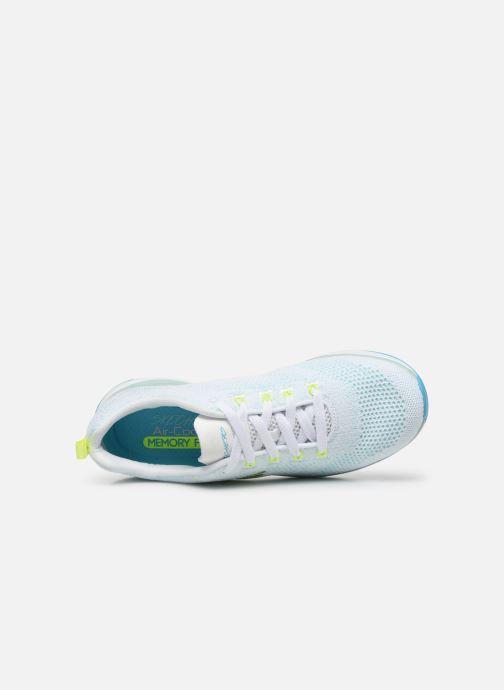 Sneaker Skechers ULTRA GROOVE W blau ansicht von links