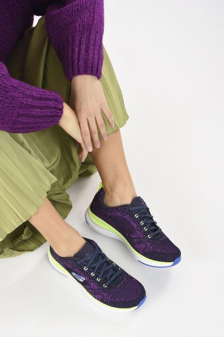 Baskets Skechers ULTRA GROOVE W Violet vue bas / vue portée sac