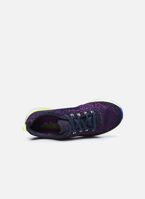 Baskets Skechers ULTRA GROOVE W Violet vue gauche