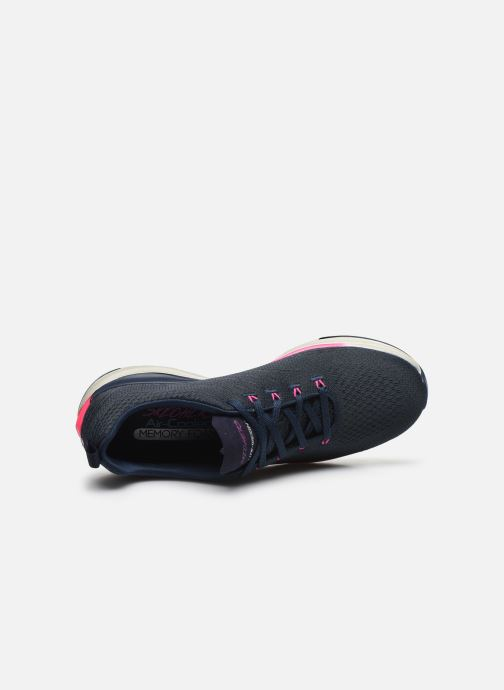 Sneakers Skechers ULTRA GROOVE PURE VISION Blauw links