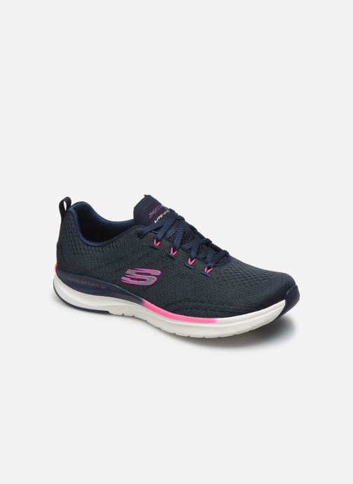 Sneakers Skechers ULTRA GROOVE PURE VISION Blauw detail