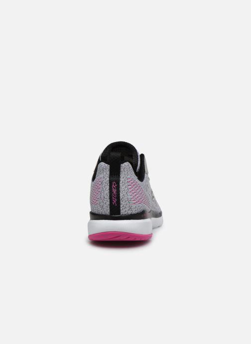 Baskets Skechers FLEX APPEAL 3.0 PURE VELOCITY Gris vue droite
