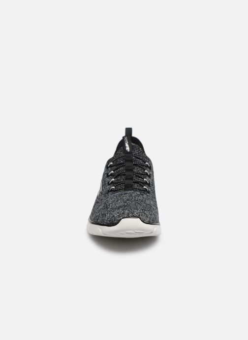 Sneaker Skechers EMPIRE D'LUX SHARP WITTED schwarz schuhe getragen