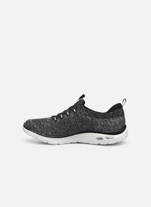 Sneaker Skechers EMPIRE D'LUX SHARP WITTED schwarz ansicht von vorne