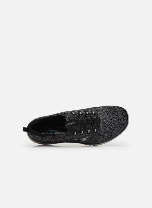 Sneaker Skechers EMPIRE D'LUX SHARP WITTED schwarz ansicht von links