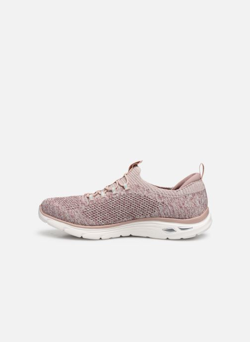 Baskets Skechers EMPIRE D'LUX SHARP WITTED Beige vue face