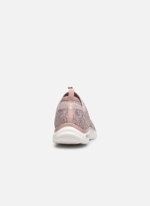 Sneaker Skechers EMPIRE D'LUX SHARP WITTED beige ansicht von rechts