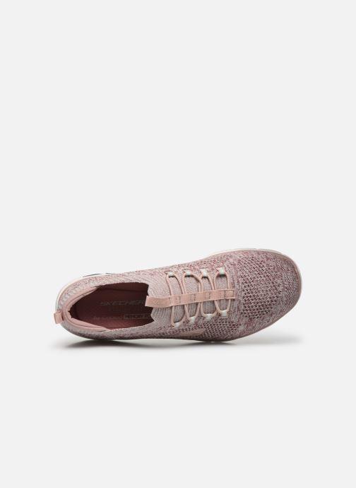 Sneaker Skechers EMPIRE D'LUX SHARP WITTED beige ansicht von links