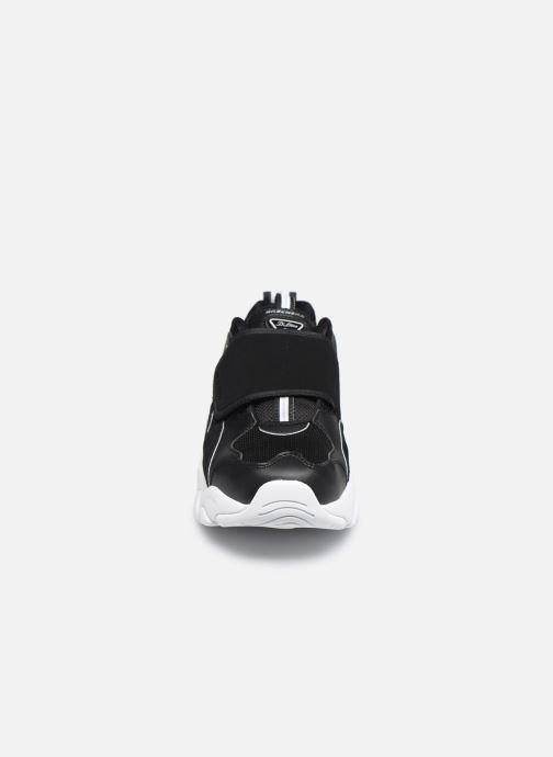 Sneakers Skechers D'LITES 3.0 SINGLE POINT Nero modello indossato