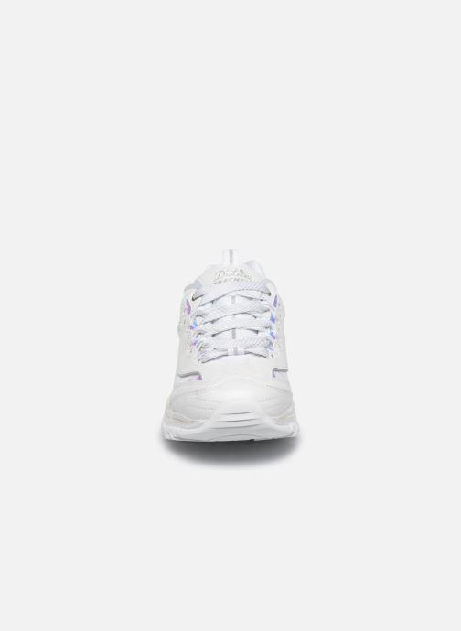 Sneakers Skechers D'LITES FLASH TONIC Bianco modello indossato