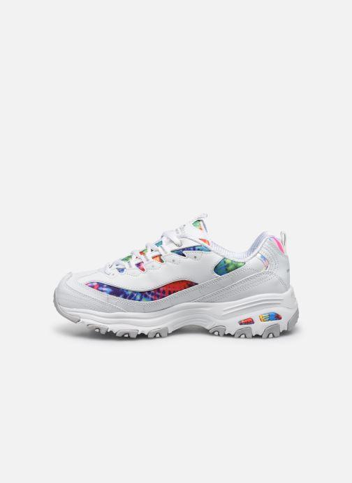 Sneakers Skechers D'LITES SUMMER FIESTA Bianco immagine frontale