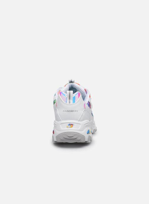 Sneakers Skechers D'LITES SUMMER FIESTA Bianco immagine destra