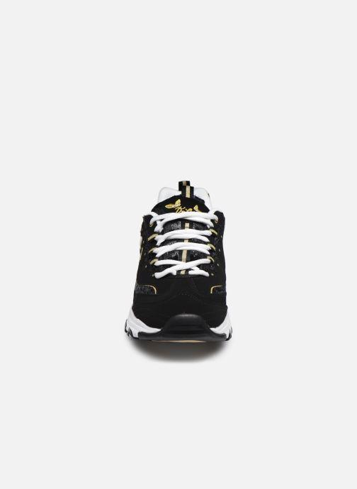 Baskets Skechers D'LITES BUTTERFLY MOMENTS Noir vue portées chaussures