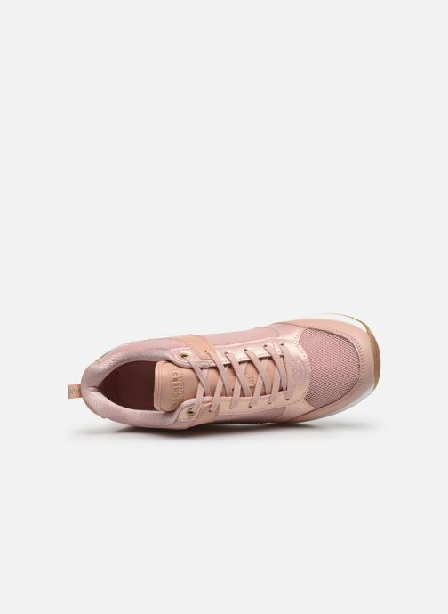 Baskets Skechers MILLION AIR UP THERE Rose vue gauche
