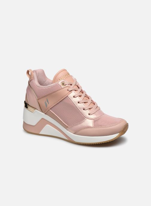 Baskets Skechers MILLION AIR UP THERE Rose vue détail/paire