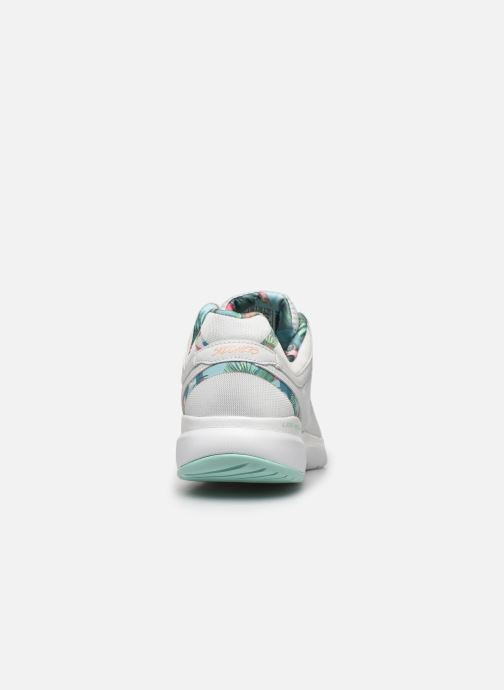 Baskets Skechers FLEX APPEAL 3.0 TROPICAL PRINCESS Blanc vue droite