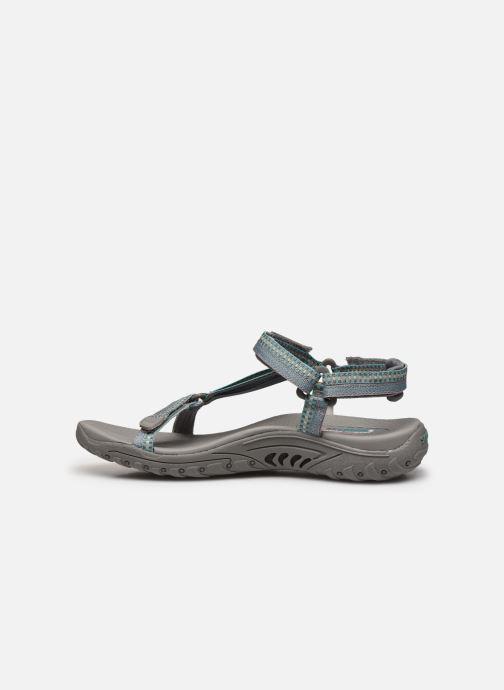Sandali e scarpe aperte Skechers REGGAE DUB FEST Grigio immagine frontale