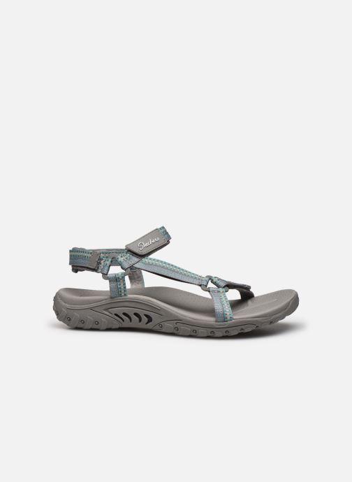 Sandalen Skechers REGGAE DUB FEST grau ansicht von hinten