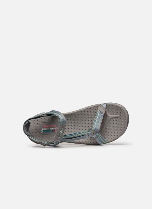 Sandalen Skechers REGGAE DUB FEST grau ansicht von links
