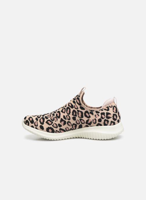 Sneakers Skechers ULTRA FLEX WILD EXPEDITION Beige immagine frontale