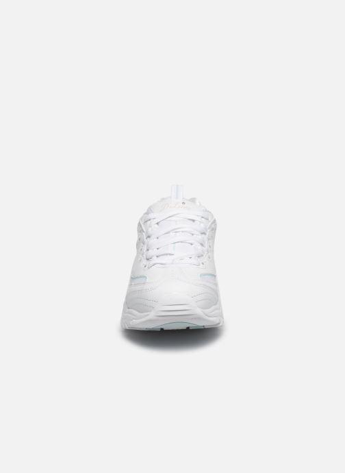 Baskets Skechers D'LITES SPARKLING RAIN Blanc vue portées chaussures