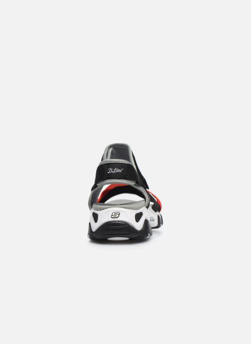 Sandales et nu-pieds Skechers D'LITES 2.0 MEGA SUMMER Gris vue droite