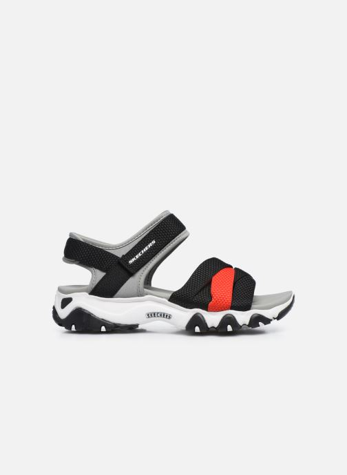 Sandales et nu-pieds Skechers D'LITES 2.0 MEGA SUMMER Gris vue derrière