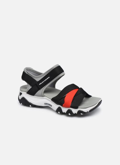 Sandales et nu-pieds Skechers D'LITES 2.0 MEGA SUMMER Gris vue détail/paire