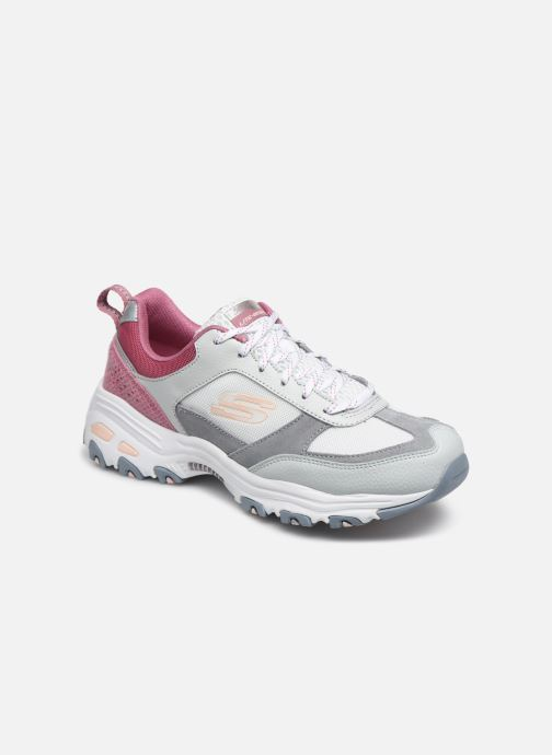 Baskets Skechers D'LITES FAN LOVE Gris vue détail/paire