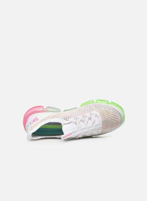 Baskets Skechers SKECH-AIR 92 SKY MOTIVATION Blanc vue gauche
