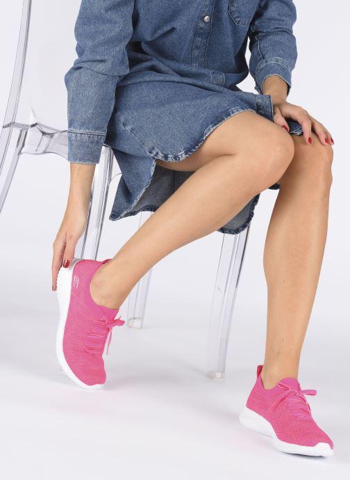 Sneakers Skechers ULTRA FLEX SUGAR BLISS Rosa immagine dal basso