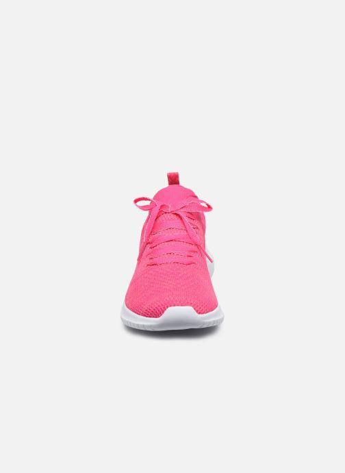 Sneakers Skechers ULTRA FLEX SUGAR BLISS Rosa modello indossato