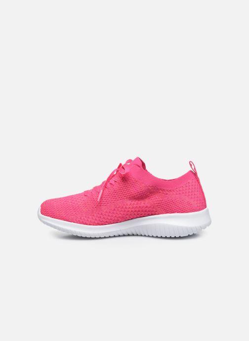 Sneakers Skechers ULTRA FLEX SUGAR BLISS Pink se forfra