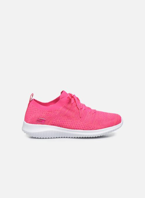 Sneakers Skechers ULTRA FLEX SUGAR BLISS Pink se bagfra