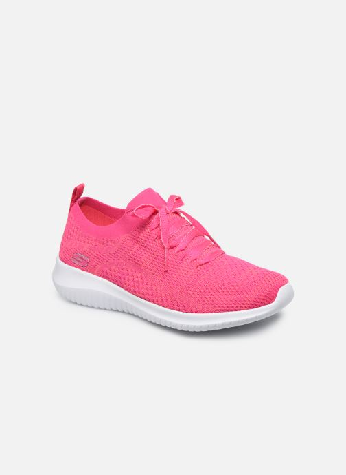 Sneakers Skechers ULTRA FLEX SUGAR BLISS Roze detail