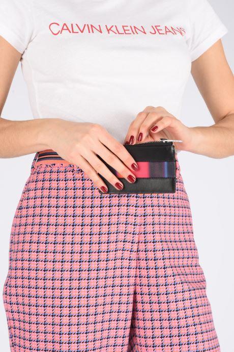Portemonnaies & Clutches PS Paul Smith Women Slg Cc Horizon schwarz ansicht von unten / tasche getragen