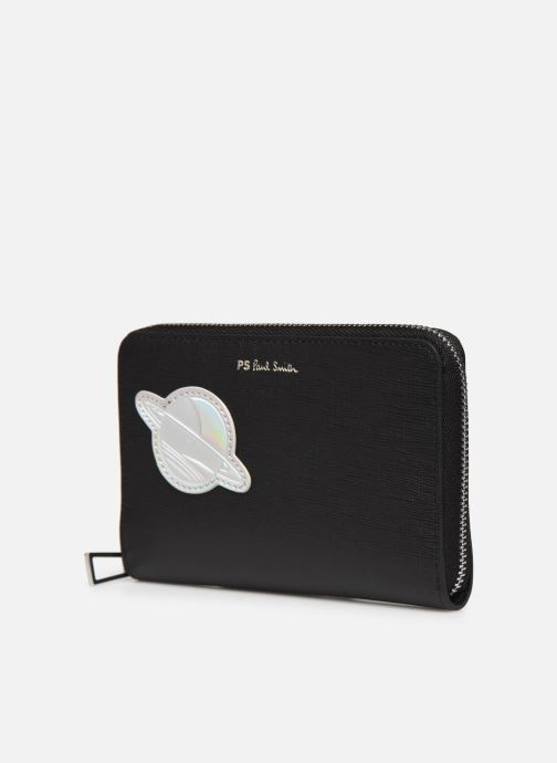 Portemonnaies & Clutches PS Paul Smith Womens Purse Med Zip Ufo schwarz schuhe getragen