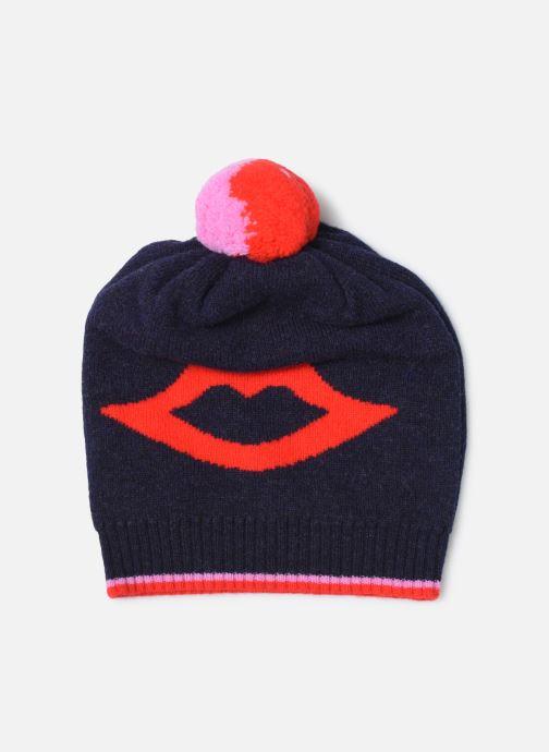 Bonnets PS Paul Smith Women Hat Lips Bleu vue détail/paire