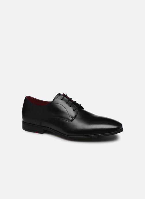 Chaussures à lacets Fluchos Adam F0842 Noir vue détail/paire