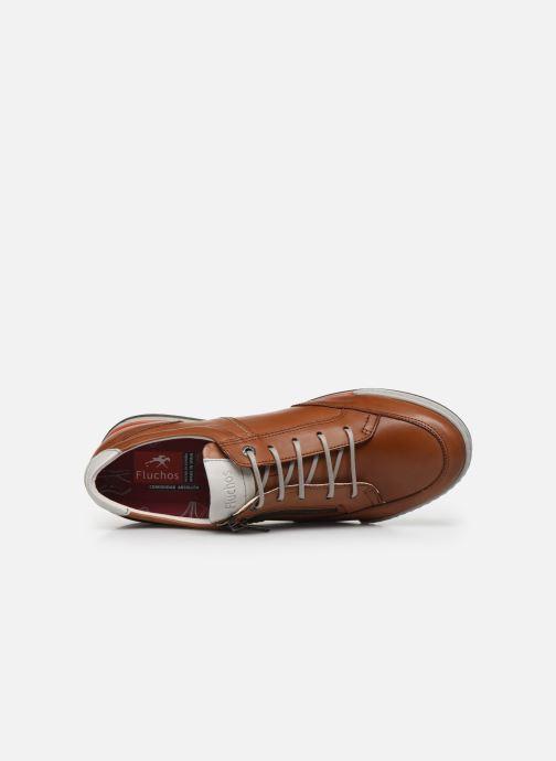 Sneaker Fluchos Etna Zip F0148 braun ansicht von links