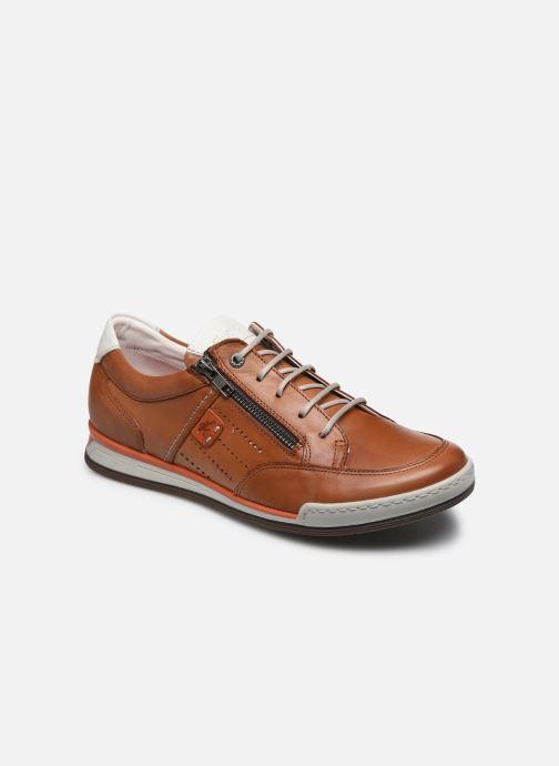 Sneaker Fluchos Etna Zip F0148 braun detaillierte ansicht/modell