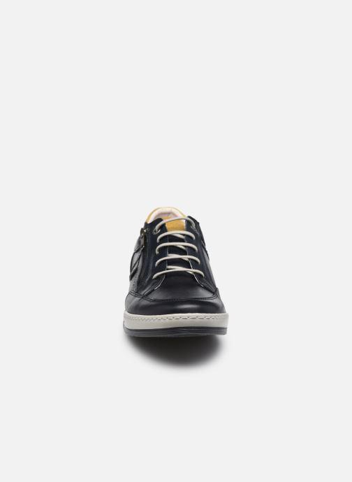 Sneaker Fluchos Etna Zip F0148 blau schuhe getragen